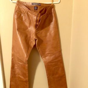 Gap Genuine Leather Boot Cut Pant